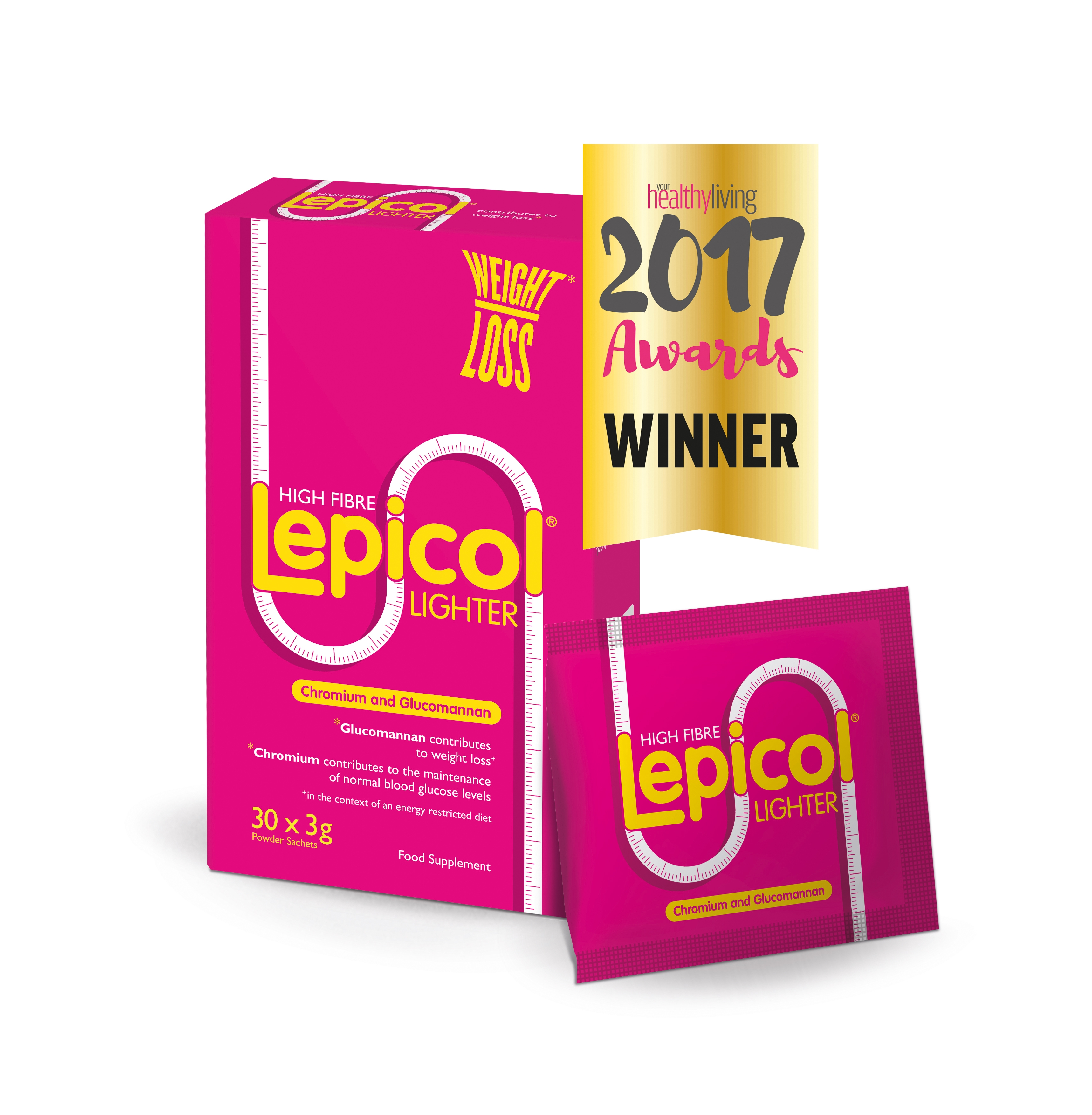 Lepicol Lighter wins Best Slimming and Fitness Product 2017