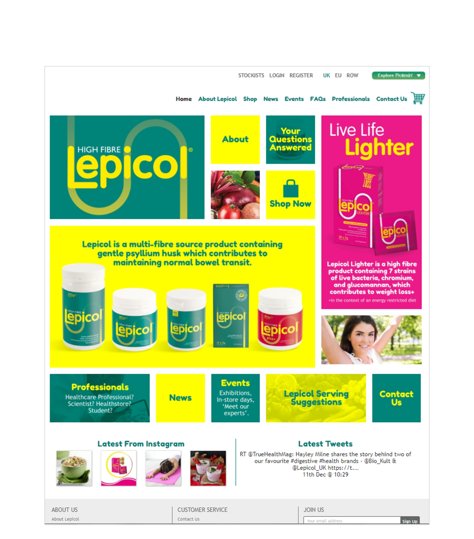 Lepicol Launches New Look Website