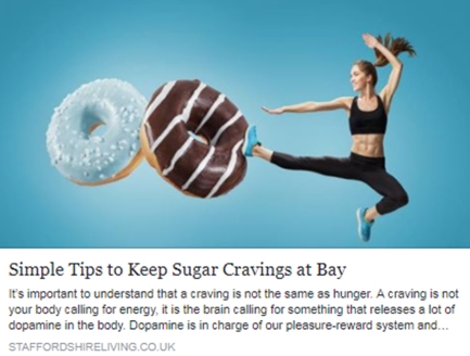 Simple tips to keep sugar cravings at bay