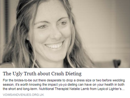 The Ugly Truth about crash dieting