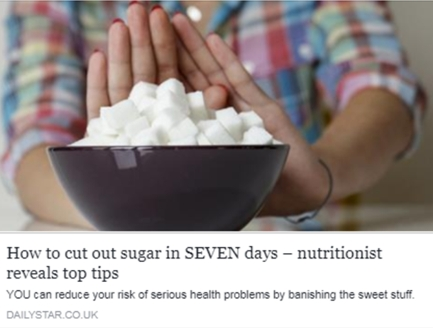 How to cut out sugar in 7 days